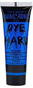 Manic Panic Electric Sky Dye Hard Temporary Hair Color Styling Gel