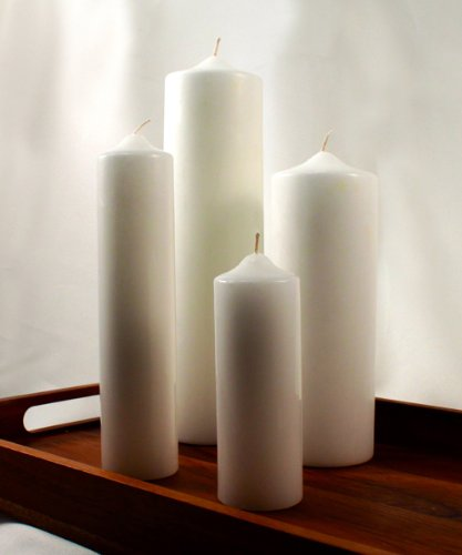 Weddingstar-Round-Pillar-Candles-Ivory