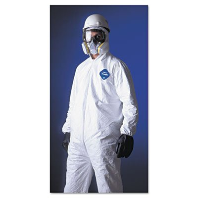 E.I. Dupont De Nemours Industrial Use Tyvek� Hooded Coveralls With Elastic Wrists And Ankles. Includes 25 Coveralls. Manufacturer Part Number: Dup Ty127Sl