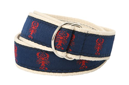 Bean Belts Baby-Boy'S Preppy Lobsters Belt (Small (3-18 Months)) front-1011021