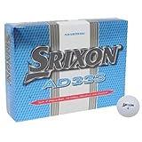 Srixon 12 Pack AD333 Golf Balls White -
