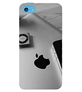 D KAUR All Apple Back Case Cover for Apple I Phone 5C::Apple I Phone 5C