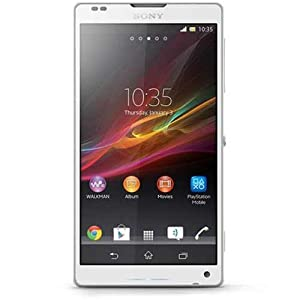 Sony XZLC6506WH Xperia ZL 4G HD Mobile Phone White   Unlocked