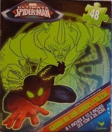 Glow In The Dark Spider-Man Jigsaw Puzzle - 48 Pieces