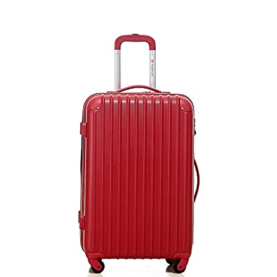 Hard Cabin Travel Trolley Suitcase Luggage Trolley Bag Case New