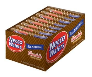 NECCO Candy Chocolate Wafers 24ct
