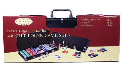 500 Chip Poker Game Set