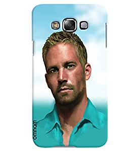 Omanm Paul Walker Designer Back Cover Case For Samsung Galaxy E5