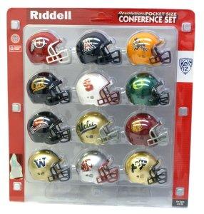 3705d390ee Buy PAC 12 Conference Riddell Pocket Pro Mini Helmet Set Web Store