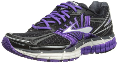 Brooks Womens Adrenaline GTS 14 W Running Shoes 1201511B550 Black/Electric Purple/Silver 7.5 UK, 41 EU, 9.5 US Regular