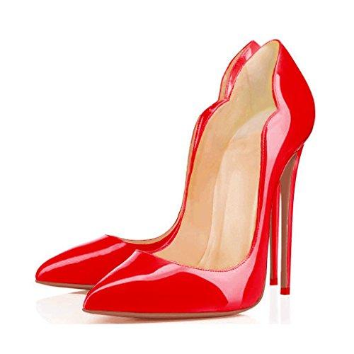 Arc-en-Ciel scarpe da donna Stiletto tacco alto-red-us14