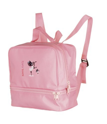 Girls-Pink-Dance-Tap-Ballet-Jazz-Swim-Gym-Shoe-Bag-Rucksack-Katz-Dancewear-KB12