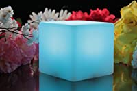 PK Green 10cm Rechargeable Cube Mood Night Lamp by PK Green
