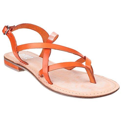 Riva, Sandali donna, Arancione (arancione), 39
