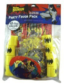 Party Favors - Batman Party Favor Value Pack - 48 piece