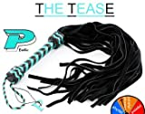 41k8otnHL2L. SL160  THE TEASE Harness Leather Suede Flogger   Whip   BDSM Toys