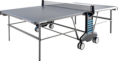 Kettler Outdoor 4 Weatherproof Table Tennis Table: Table Only