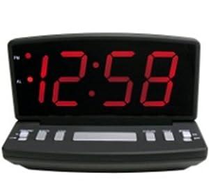 Amazon.com - 4584E Elgin hora de la alarma eléctrica del reloj -