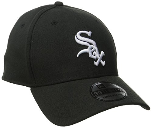 MLB Chicago White Sox Team Classic Game 39Thirty Stretch Fit Cap, Black, Large/X-Large (White Sox Baseball Cap compare prices)