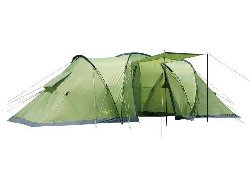 Gelert Evora 6 Tent - Calliste Green/Sweet Pea/Charc