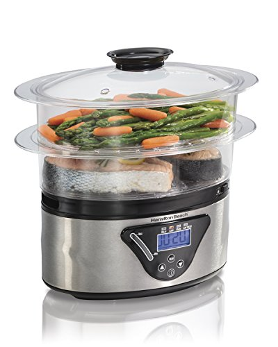Find Bargain Hamilton Beach Digital Steamer - 5.5 Quart (37530A)