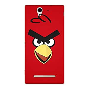 Red Bird Yellow Beak Back Case Cover for Sony Xperia C3