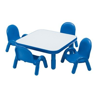 Angeles 30X30X12 Square Table & Chair Set-Royal Blue at Sears.com