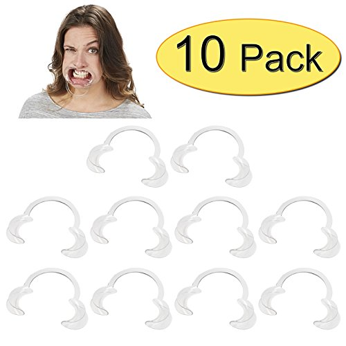 Extra Replacement Mouthpieces For Speak Out Mouthguard Challenge Game (10 Pack)