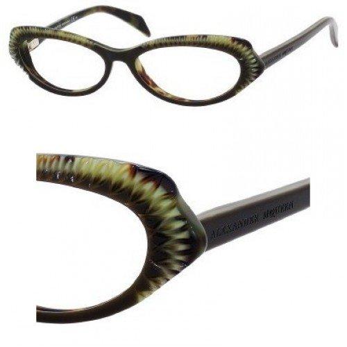 Alexander McQueenAlexander McQueen Eyeglasses AMQ 4199 BROWN YXQ AMQ4199