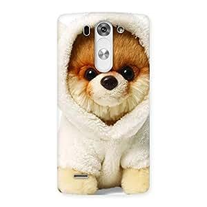 Ajay Enterprises Delight Boo Dog Back Case Cover for LG G3 Mini