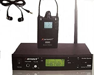 wireless in ear monitor system musical instruments. Black Bedroom Furniture Sets. Home Design Ideas