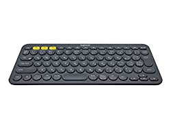 Logitech K380 MULTI-DEVICE BLUETOOTH KEYBOARD - Dark gray