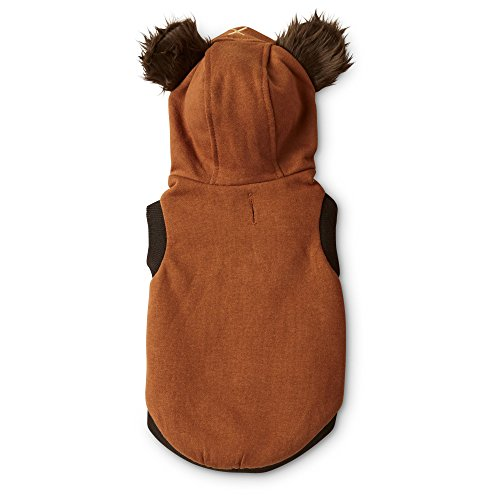 [STAR WARS Halloween Ewok Dog Costume, Large] (Ewok Star Wars Costume)