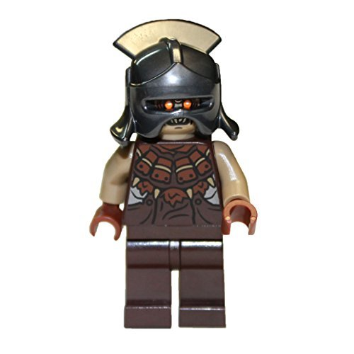 LEGO Mordor Orc with Helmet Minifigure - 1