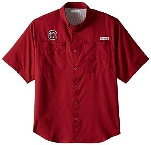 NCAA South Carolina Fighting Gamecocks Mens Collegiate Tamiami Shirt by Columbia
