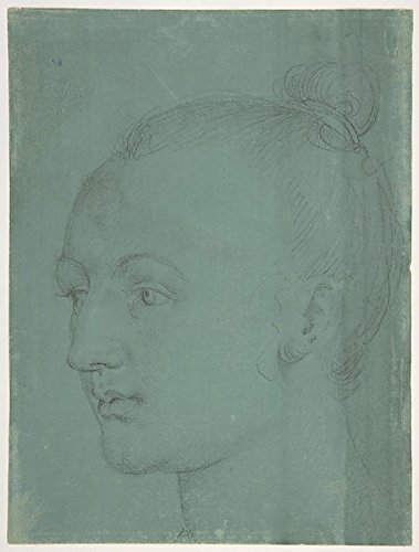Head Of A Young Woman Poster Print By Albrecht Dürer (18 X 24)