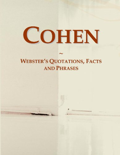 Cohen: Webster's Quotations, Facts and Phrases