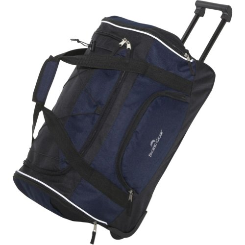 "Traveler's Choice Pacific Gear Lightweight 21"" Carry-On Rolling Duffel Bag"