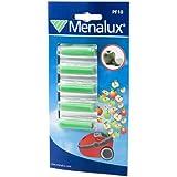 Menalux PF10 Accessoires pour Aspirateurs avec ou sans Sac Senteur Pomme 1 Blister de 5 Bâtonnets