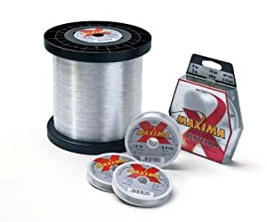 Maxima Fishing Line Service Spools, Clear, 25-Pound 2630-Yard by Maxima Fishing Line