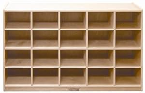 Ecr4Kids 30 in. High 20-Tray Classroom Storage Cabinet