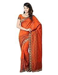 Diva Fashion-Surat Art Silk Embroidered Saree