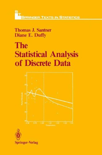 The Statistical Analysis of Discrete Data (Springer Texts in Statistics), by Thomas J. Santner, Diane E. Duffy