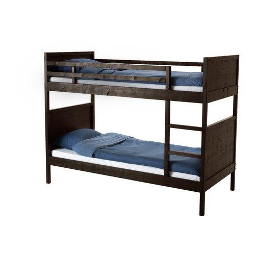 IKEA(イケア) NORDDAL 2段ベッドフレーム ブラック