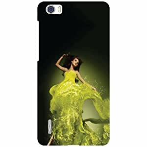 Huawei Honor 6 H60-L04 Phone Cover - Beautiful Lady Matte Finish Phone Cover