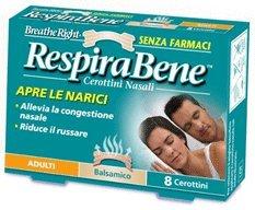 RESPIRABENE BALSAMICO CEROTTINI NASALI breath right