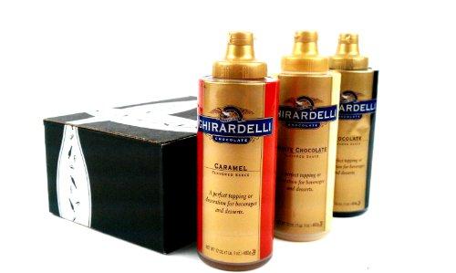 Ghirardelli Gourmet Sauces 3-Flavor Variety: