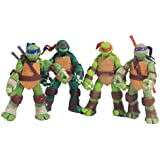 NuoYa001 TMNT Teenage Mutant Ninja Turtles Classic Collection 12cm Figure 4pcs Set