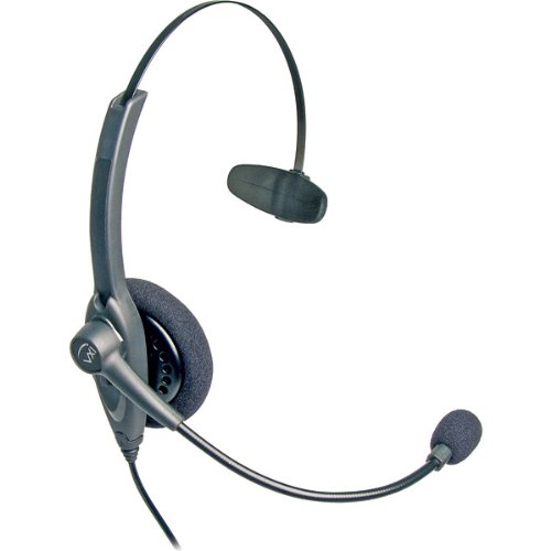 Vxi Passport 10V Professional Monaural Single-Wire Headset With V-Series Quick Disconnect