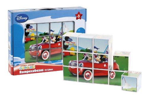 Imagen principal de Mickey Mouse - Rompecabezas diseño Mickey Mouse, 12 cubos (Cefa Toys 88211)